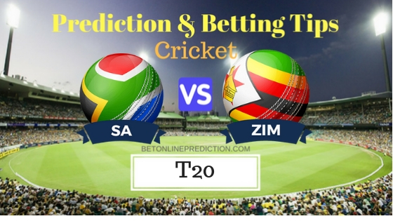 South Africa vs Zimbabwe 2nd T20 Prediction and Free Betting Tips 12th October 2018