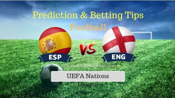Spain vs England Prediction and Free Betting Tips 15th October 2018