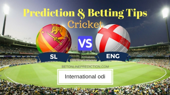 Sri Lanka vs England 1st ODI Prediction and Free Betting Tips 10th October 2018