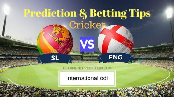 Sri Lanka vs England 1st ODI Prediction and Free Betting Tips 10th October 2018