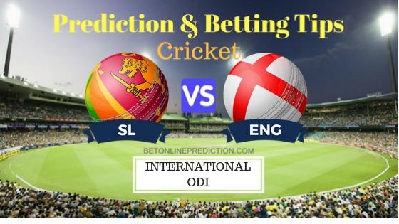 Sri Lanka vs England 2nd ODI Prediction and Free Betting Tips 13th October 2018