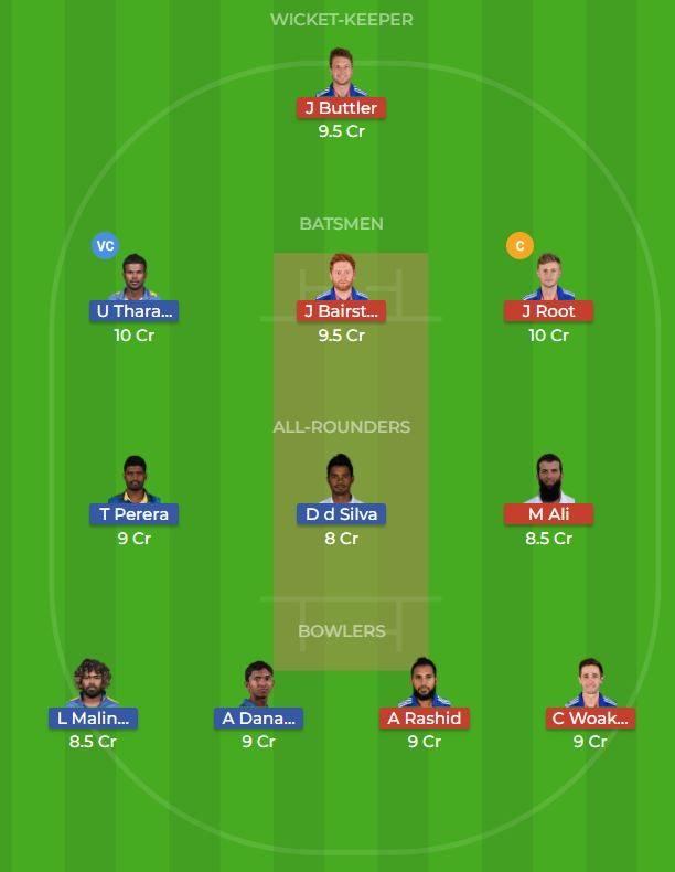 Sri Lanka vs England 3rd ODI Dream11 Team, Team News, Winner Prediction 17th October 2018