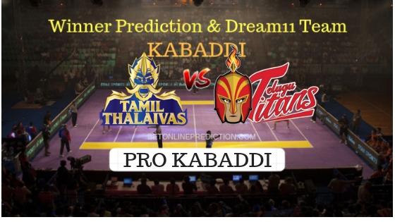 Tamil Thalaivas vs Telugu Titans Prediction and Free Betting Tips 09th October 2018
