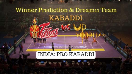 Telugu Titans vs UP Yoddha Prediction and Free Betting Tips 13th October 2018