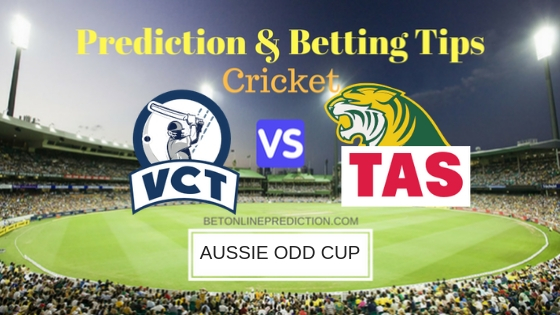 Victoria vsTasmania Final ODI Prediction and Free Betting Tips 10th October 2018