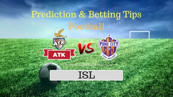 ATK vs FC Pune City 33th Team, Team News, Winner Prediction 10th November 2018