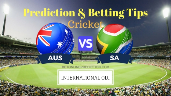 Australia vs South Africa 1st ODI Team, Team News, Winner Prediction 4th November 2018