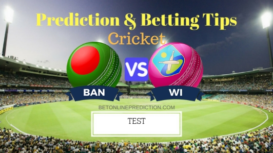 Bangladesh vs Windies 1st TEST Team, Team News, Winner Prediction 22th November 2018