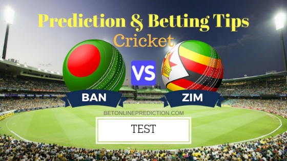 Bangladesh vs Zimbabwe 2nd TEST Team, Team News, Winner Prediction 11th November 2018