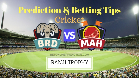 Baroda vs Maharashtra Round 2,Elite Group A Team, Team News, Winner Prediction 12th November 2018