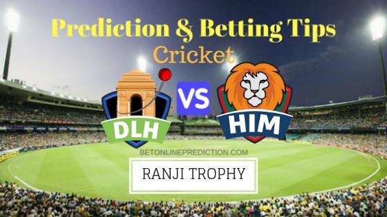 Delhi vs Himachal Pradesh Round 2,Elite Group B TEST Team, Team News, Winner Prediction 12th November 2018