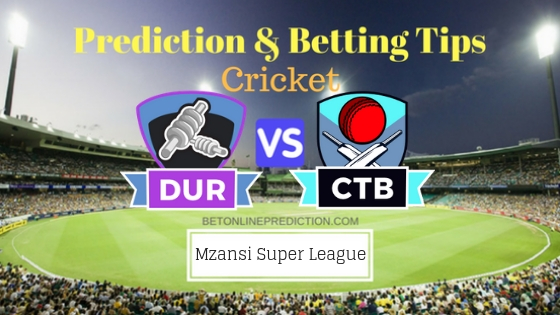 Durban Heat vs Cape Town Blitz 3rd T20 Team, Team News, Winner Prediction 18th November 2018