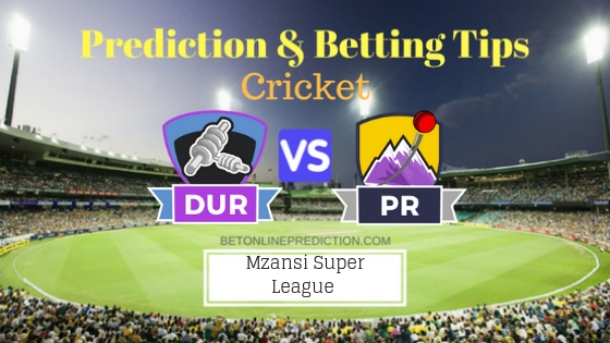 Durban Heat vs Paarl Rocks 14th T20 Team, Team News, Winner Prediction 28th November 2018