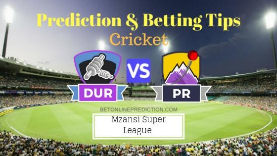 Durban Heat vs Paarl Rocks 14th T20 Team, Team News, Winner Prediction 28th November 2018