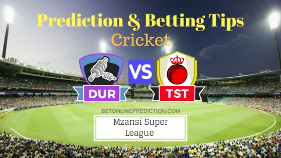 Durban Heat vs Tshwane Spartans 6th T20 Team, Team News, Winner Prediction 21th November 2018