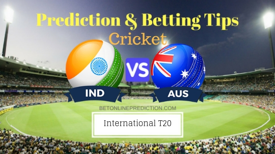 India vs Australia 1st T20 Team, Team News, Winner Prediction 21th November 2018