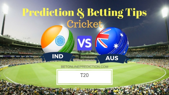India vs Australia 2nd T20 Team, Team News, Winner Prediction 23th November 2018