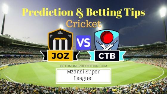 Jozi Stars vs Cape Town Blitz 9th T20 Team, Team News, Winner Prediction 24th November 2018