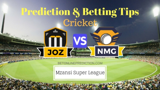 Jozi Stars vs Nelson Mandela Bay Giants 2nd T20 Team, Team News, Winner Prediction 17th November 2018