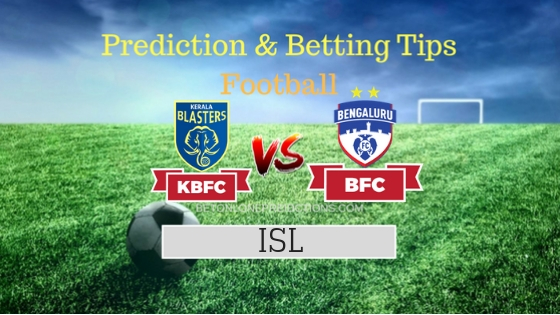 Kerala Blasters FC vs Bengaluru FC Team, Team News, Winner Prediction 5th November 2018