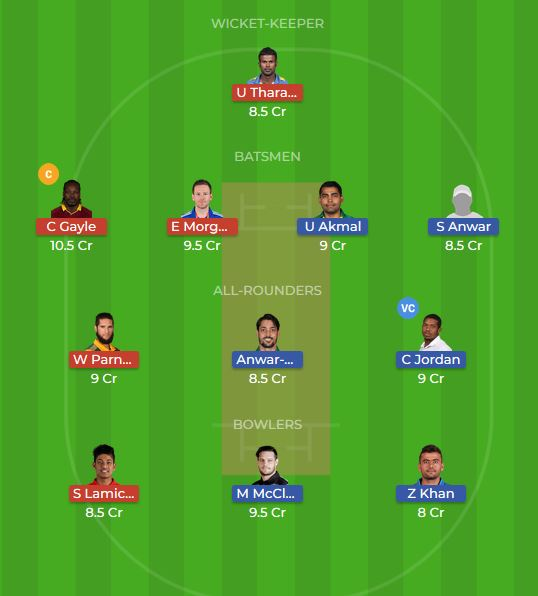 Kerala Knights vs Punjabi Legends 14th T10 Dream11 Team, Team News, Winner Prediction 26th November 2018