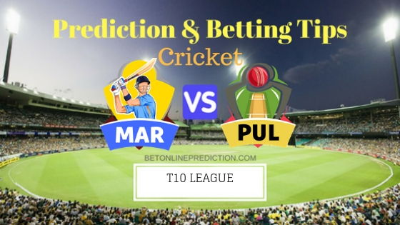 Maratha Arabians vs Punjabi Legends 5th T10 Team, Team News, Winner Prediction 22th November 2018