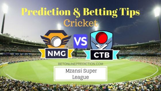 Nelson Mandela Bay Giants vs Cape Town Blitz 12th T20 Team, Team News, Winner Prediction 27th November 2018