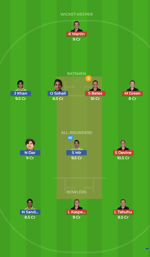 New Zealand Women vs Pakistan Women 14th T20 Dream11 Team, Team News, Winner Prediction 16th November 2018