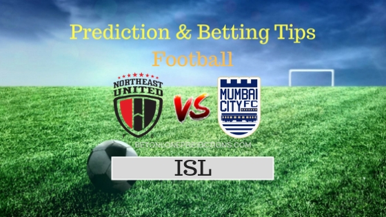 North East United FC vs Mumbai City FC 32th Team, Team News, Winner Prediction 9th November 2018