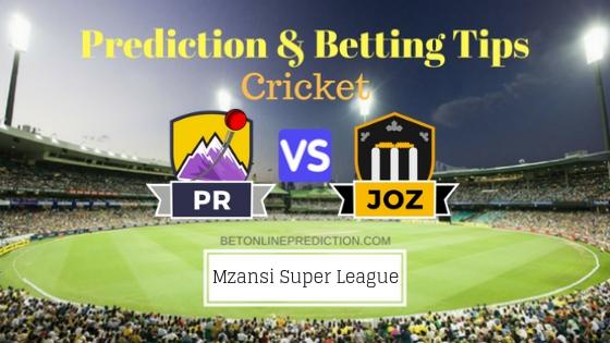 Paarl Rocks vs Jozi Stars 5th T20 Team, Team News, Winner Prediction 20th November 2018
