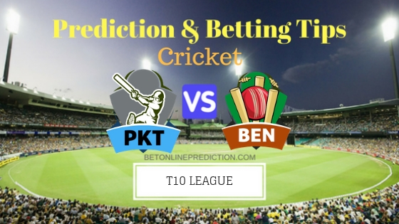 Pakhtoons vs Bengal Tigers 13th T10 Team, Team News, Winner Prediction 26th November 2018