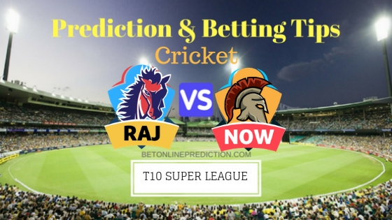 Rajputs vs Northern Warriors 23rd T10 Team, Team News, Winner Prediction 30th November 2018