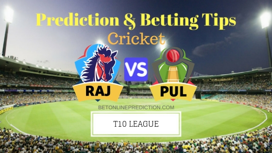 Rajputs vs Punjabi Legends 17th T10 Team, Team News, Winner Prediction 28th November 2018