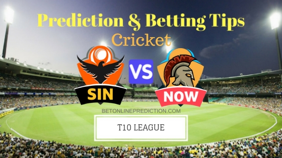 Sindhis vs Northern Warriors 16th T10 Team, Team News, Winner Prediction 27th November 2018