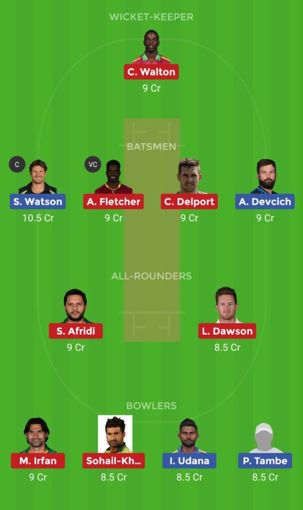 Sindhis vs Pakhtoons 9th T10 Dream11 Team, Team News, Winner Prediction 24th November 2018