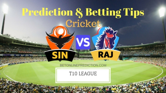 Sindhis vs Rajputs 1st T10 Team, Team News, Winner Prediction 21th November 2018