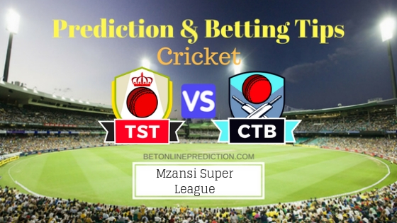 Tshwane Spartans vs Cape Town Blitz 17th T20 Team, Team News, Winner Prediction 1st December 2018