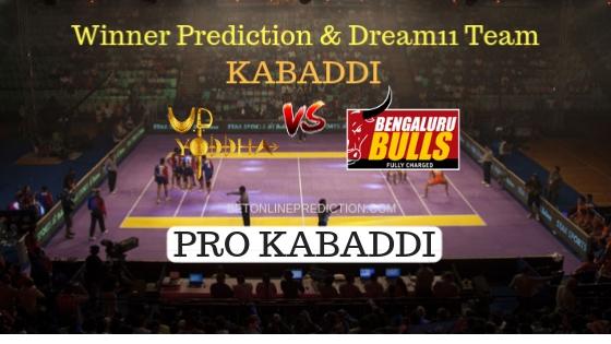 U.P Yoddha vs Bengaluru Bulls 47th Team, Team News, Winner Prediction 3rd November 2018