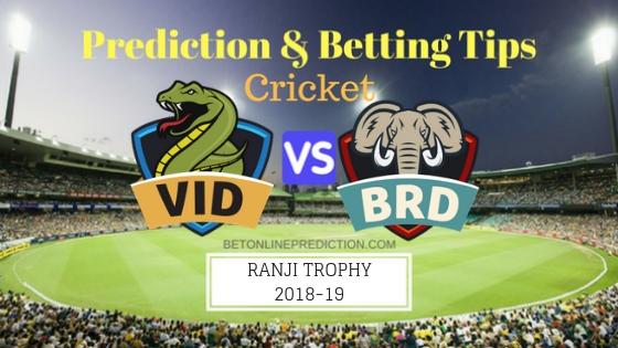 Vidarbha vs Baroda Round 3,Elite Group A TEST Team, Team News, Winner Prediction 20th November 2018