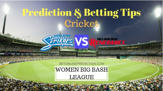 Adelaide Strikers Women vs Melbourne Renegades Women 11th T20 Team, Team News, Winner Prediction 09th December 2018