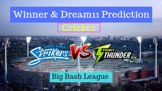 Adelaide Strikers Women vs Sydney Thunder Women 14th T20 Team, Team News, Winner Prediction 15th December 2018