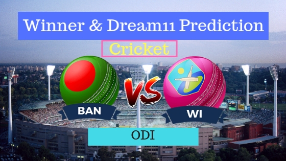 Bangladesh vs West Indies 2nd ODI Team, Team News, Winner Prediction 11th December 2018