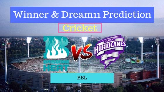 Brisbane Heat vs Hobart Hurricanes 5th T20 Team, Team News, Winner Prediction 22th December 2018