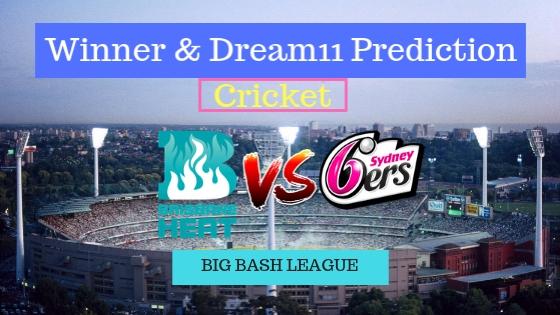 Brisbane Heat vs Sydney Sixers 15th T20 Team, Team News, Winner Prediction 1st January 2018