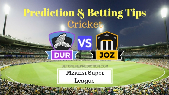 Durban Heat vs Jozi Stars 23rd T20 Team, Team News, Winner Prediction 07th December 2018