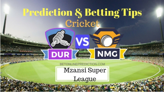 Durban Heat vs Nelson Mandela Bay Giants 22nd T20 Team, Team News, Winner Prediction 05th December 2018
