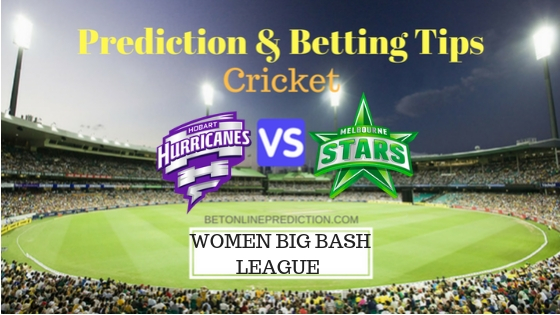 Hobart Hurricanes Women vs Melbourne Stars Women 6th T20 Team, Team News, Winner Prediction 08th December 2018