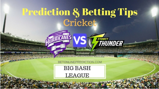Hobart Hurricanes vs Sydney Thunder 11th T20 Team, Team News, Winner Prediction 28th December 2018
