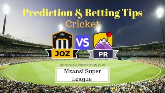 Jozi Stars vs Paarl Rocks 26th T20 Team, Team News, Winner Prediction 09th December 2018