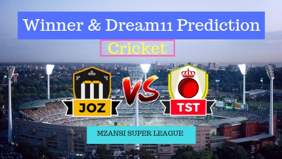 Jozi Stars vs Tshwane Spartans 28th T20 Team, Team News, Winner Prediction 11th December 2018